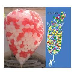 Balão coração 45cm Vermelho