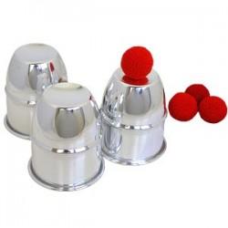 Cups and balls - Aluminio