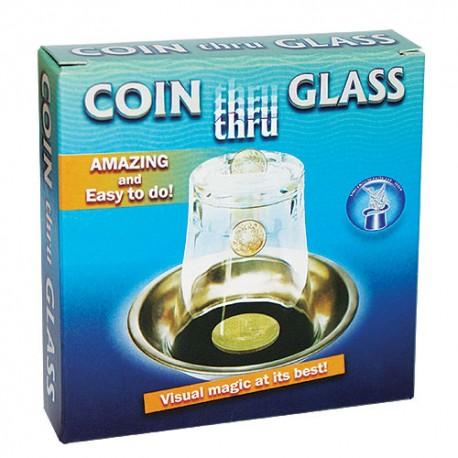 Moeda através do copo - Coin through Glass
