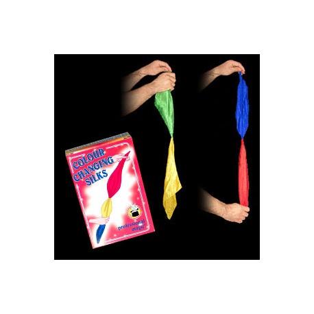 Lenços que mudam de cor - 30cm x 30cm