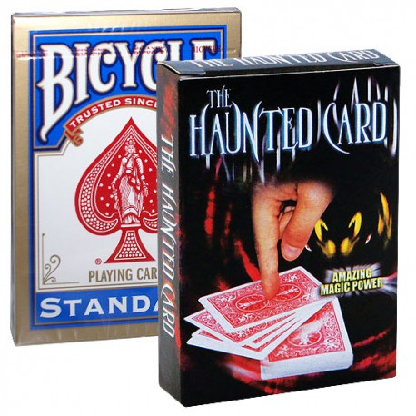 Haunted Card Gimmick + Deck Bicycle