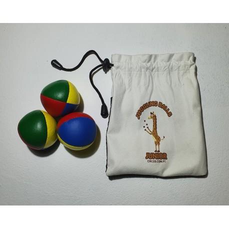 Pack 3 Bolas iniciação Junior