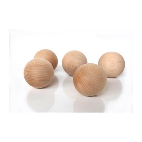 Bolas de madeira