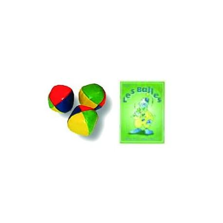 Pack 3 bolas iniciação + livro