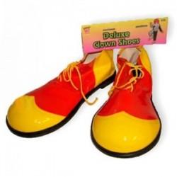 Sapatos palhaço Plástico Deluxe