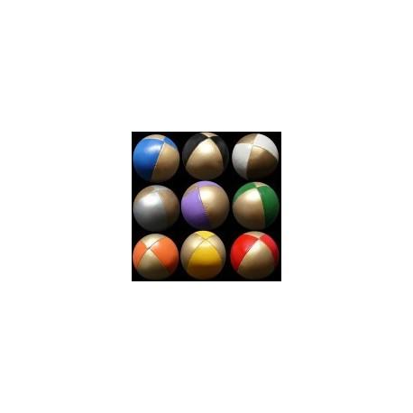 Bola Beanbag 2 cores Dourado + cor