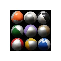 Bola Beanbag 2 cores Prateado + cor