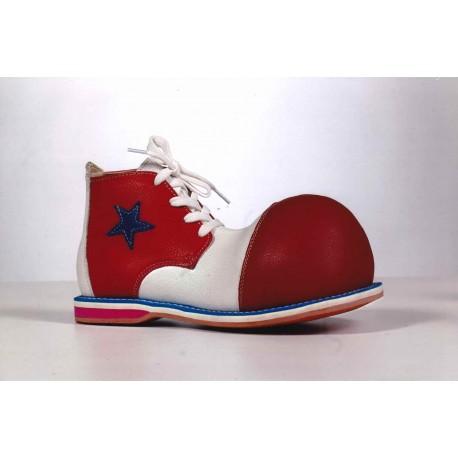 Sapatos Palhaço em Couro de Alta Qualidade