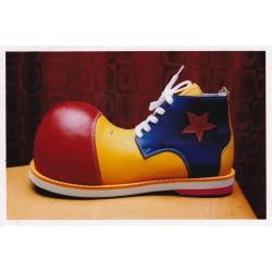 Sapatos Palhaço em Couro Tam. 33-35