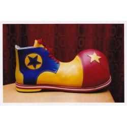 Sapatos Palhaço em Couro Tam. 36-37